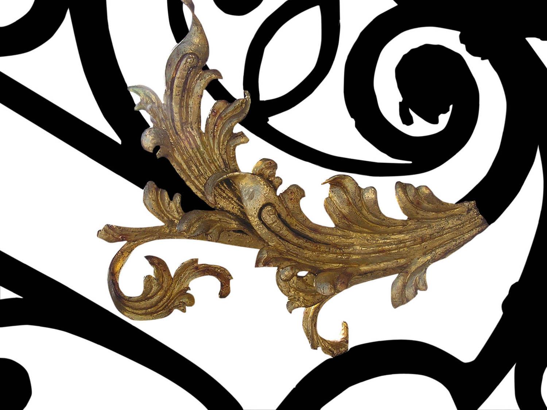 Metalowe elementy dekoracyjne do wnętrza domu
